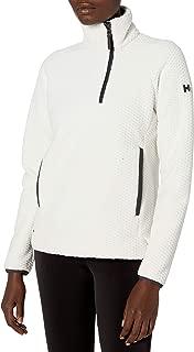 Helly Hansen Women's Lyra Offset 1/2 Zip 2-Sided Fleece Pullover Jacket