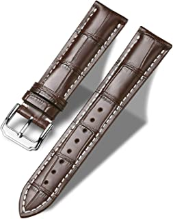 Moran Genuine Leather Watch Band 18mm 19mm 20mm 21mm 22mm 23mm 24mm Calf Grain Watch Strap for Men and Women
