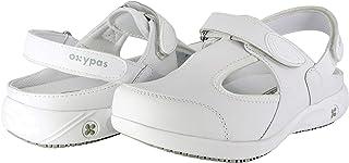 Oxypas Move Carin Slip-resistant, Antistatic Nursing Shoes, White (Wht) , 4 UK (EU: 37)