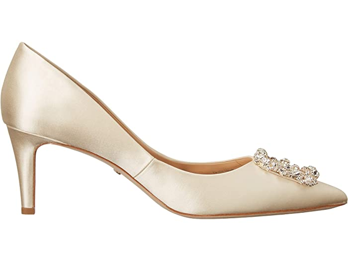 Badgley Mischka Carrie Ivory Heels