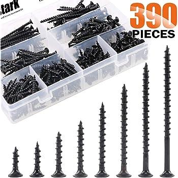 240 Pieces Qualihome #1 Best Quality Wood Screw Assortment Kit