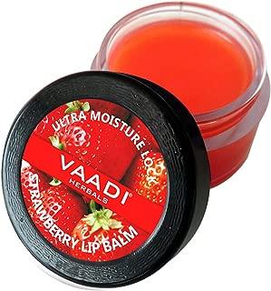 Vaadi Herbals Lip Balm, Strawberry and Honey, 10g