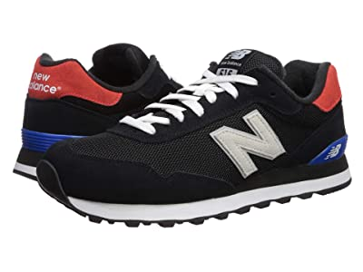 New Balance Classics ML515v1-USA (Black/Energy Red) Men