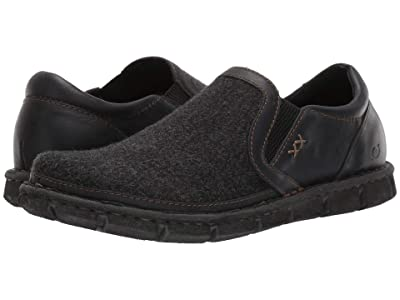 Born Sawyer (Black/Black Fabric Combo) Men