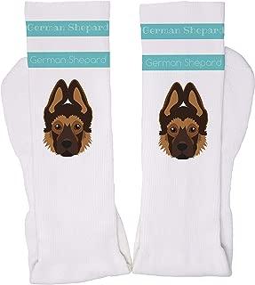 Adorable Dog Breed Specific Novelty Sport Tube Socks