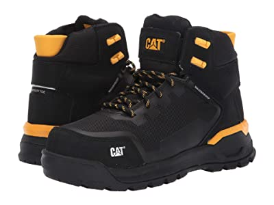 Caterpillar Propulsion Waterproof Composite Toe (Black Nubuck) Women