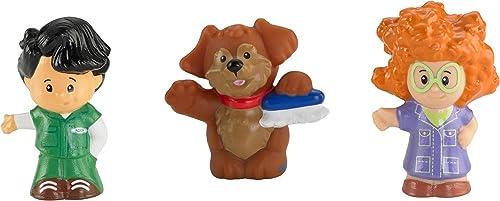 Mattel - M7248 - Figurine - Peu People - Tube Figurines - Garage