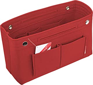 Felt Tote Handbag Purse Pocketbook Organizer Insert Divider Shaper Bag in Bag