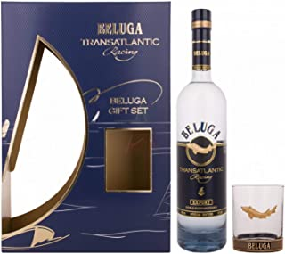 Beluga TRANSATLANTIC RACING Noble Russian Vodka mit Glas 40,00% 0,70 Liter