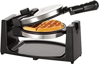 BELLA Classic Rotating Non-Stick Belgian Waffle Maker, Perfect 1