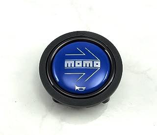 MOMO Horn/SM/Blue Horn Button