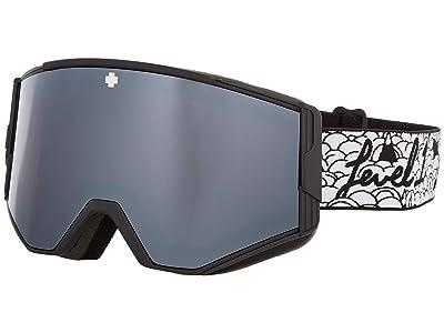 Spy Optic Ace (Spy + Level 1 HD Plus Bronze w/ Silver Spectra Mirror) Goggles