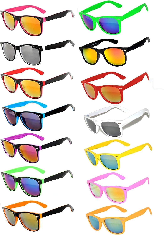 Retro Vintage Sunglasses Colorful Mirror Lens outlet Frame Matte 6 3 Finally popular brand 5