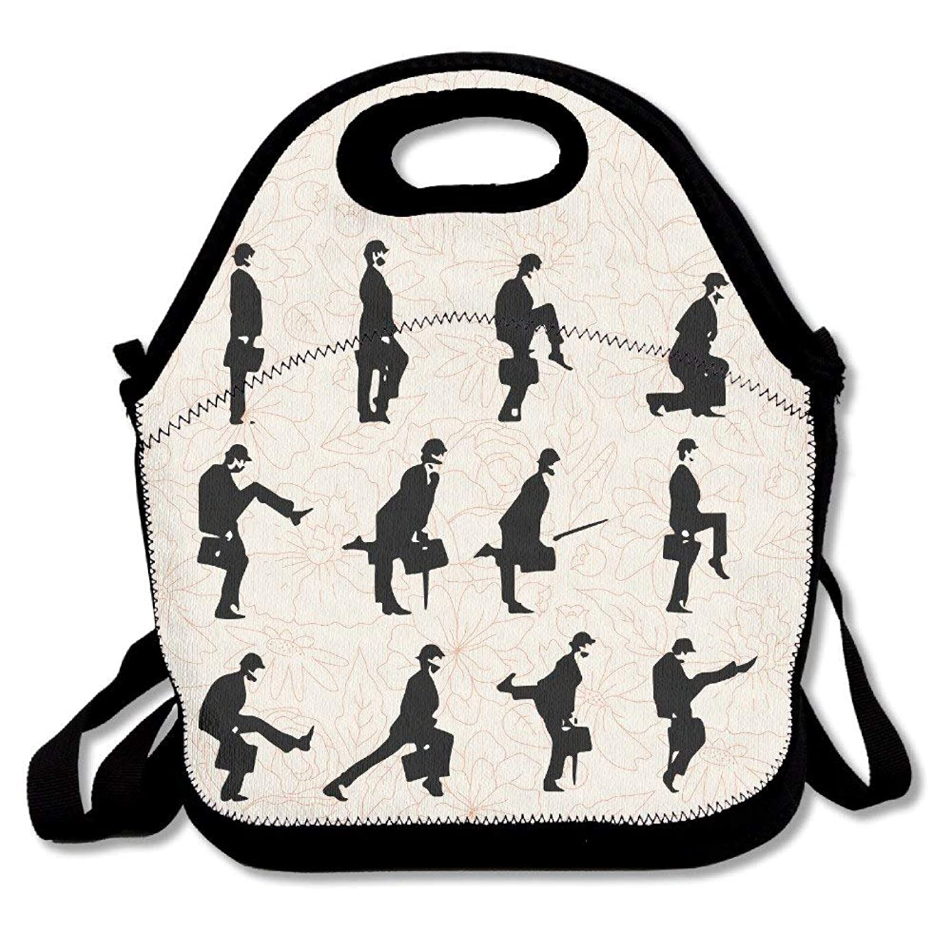 Monty Python Silly Walk Insulated Neoprene Lunch Bag Tote Handbag lunchbox Food Container Gourmet Tote Cooler warm Pouch For School work Office oqa7738587