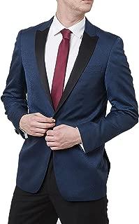 Men's Peak Lapel & Shawl Collar Regular Fit Two Piece Tuxedo Suit