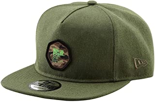 ee5d3095910a1 Troy Lee Designs Casquette Snapback Race Camo New Era 9Fifty Heather Army  (Default, Vert