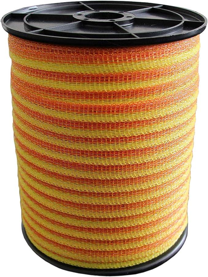 Weidezaunband T20 Aktion Elektrozaun Weidezaun Breitband Band 200m 20mm