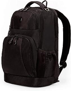 SWISSGEAR Durable Men's and Women's Laptop Backpack - Black