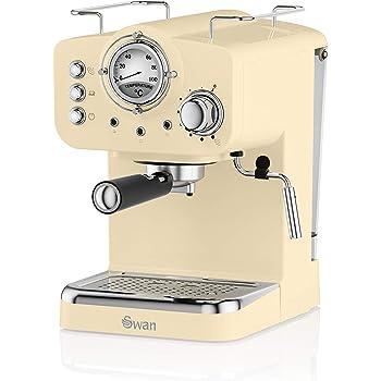 Swan SK22110CN, Retro Pump Espresso Coffee Machine, 15 Bars of ...