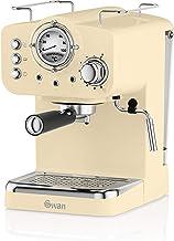 Swan SK22110CN, Retro Pump Espresso Coffee Machine, 15 Bars