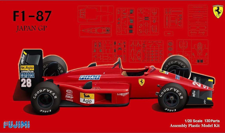 Con 100% de calidad y servicio de% 100. Ferrari F1-87 Japan GP (Model Coche) by by by Fujimi by Fujimi  venta con alto descuento
