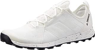 adidas Australia Men's Terrex Agravic Speed Trail Running Shoes, Non-Dyed/Footwear White/Core Black