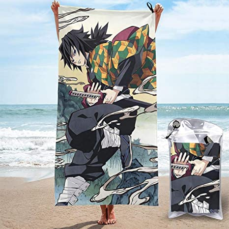 Kimetsu no Yaiba Badetuch Strandtuch Handtuch bath towel decke Demon Slayer