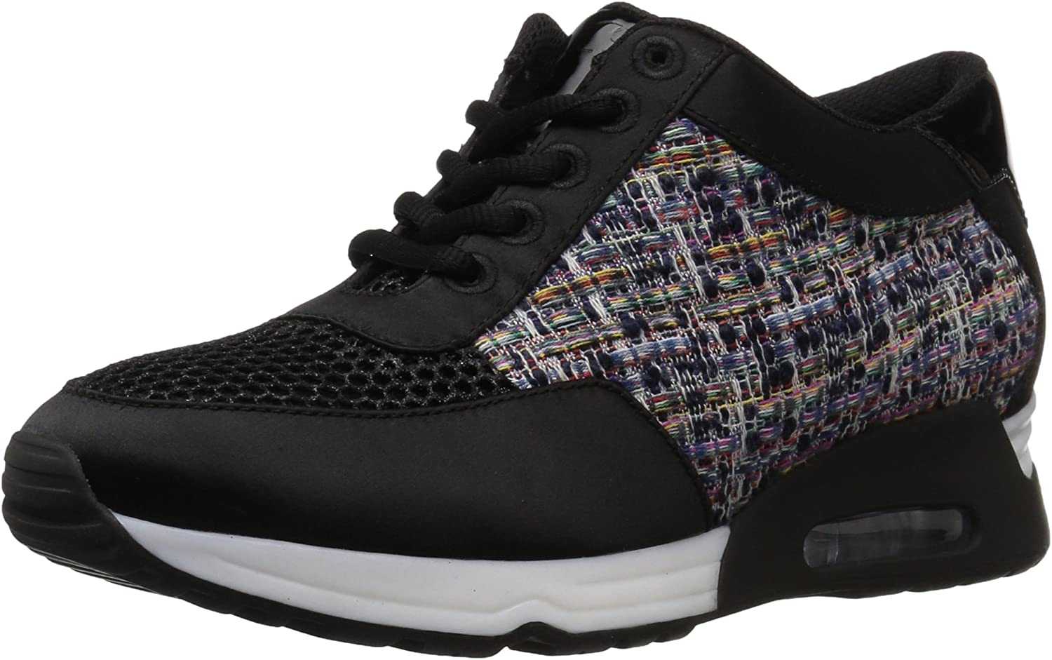 The Fix Womens Lexi color Material-Block Jogger Sneaker Sneaker