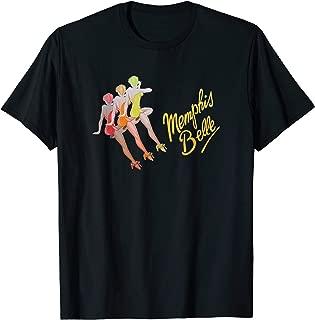 Memphis Belles WW2 Bomber Nose Art T-Shirt