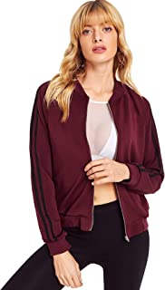 Fabricorn Plain Maroon Sweatshirt Jacket for Women (Maroon)