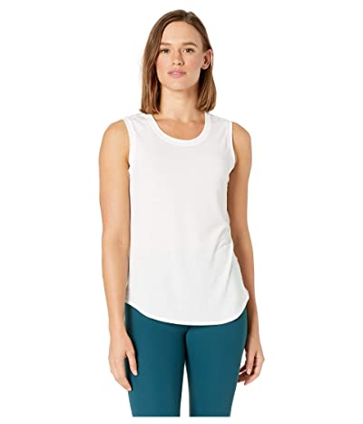The North Face Workout Muscle Tank Top (TNF White) Women