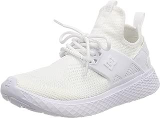 DC Women's Meridian J Shoe Wht White Sneakers-4 UK/India (37 EU) (3613373271198)