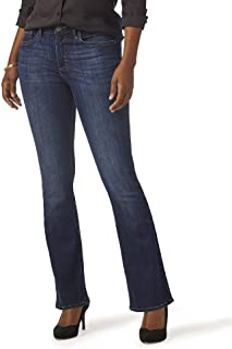 Riders by Lee Indigo Women's Heritage High Rise Skinny Flare Jean