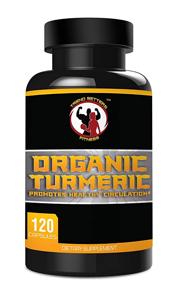 Organic Turmeric Curcumin Extract, 1000mg Pure Organic Turmeric (Curcuma Longa Root) and 95% Curcuminoids 5mg BioPerine? Black Pepper Fruit Per Veggie Cap - 120 capsules