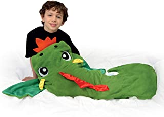 Snuggie Tails Dragon Blanket- Comfy, Cozy, Super Soft, Warm, All Season, Wearable Blanket for Kids, As Seen on TV