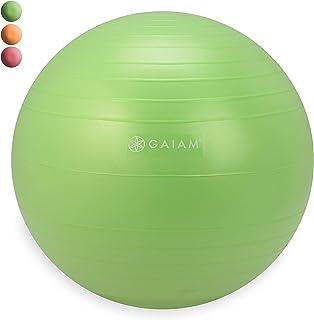 Gaiam Kids Balance Ball Chair - Classic Children's Stability Ball Chair, Alternative School Classroom Flexible Desk Seatin...