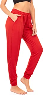 Best plus size red joggers Reviews