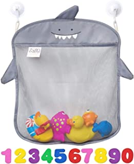 Bath Toy Organizer By Jojo Kids Keep Toys Dry Without Mold | Superior Quality Tub Toy Storage | Set of 2 Large Size and Qu...
