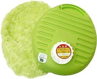 辻本プラスチック 湯たんぽ プチ 袋付 0.9L グリーン