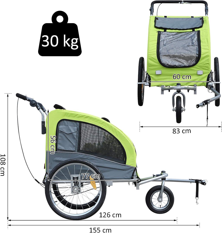 remolque bici perros barato Pecute