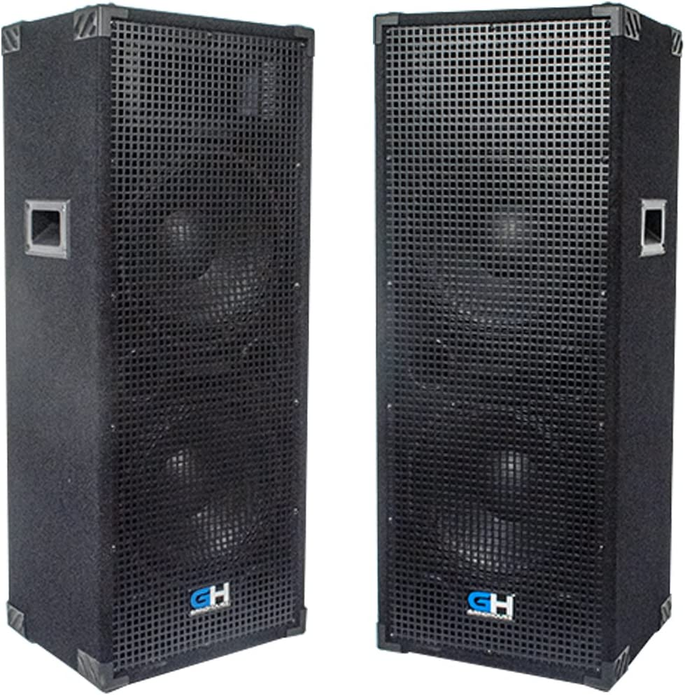 Grindhouse Speakers - Fashion GH212L-Pair Pair of Dual Same day shipping 12 Passive Inch