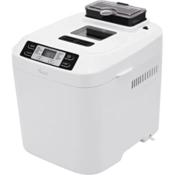 Rosewill RHBM-15001 2-Pound Programmable Rapid Bake Bread Maker with Automatic Fruit and Nut Dispenser, Gluten Free Menu Setting