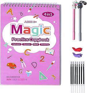 magic 4 in 1 Practice Copybook
