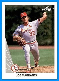 1990 Leaf #11 Joe Magrane MLB NETWORK CARDINALS