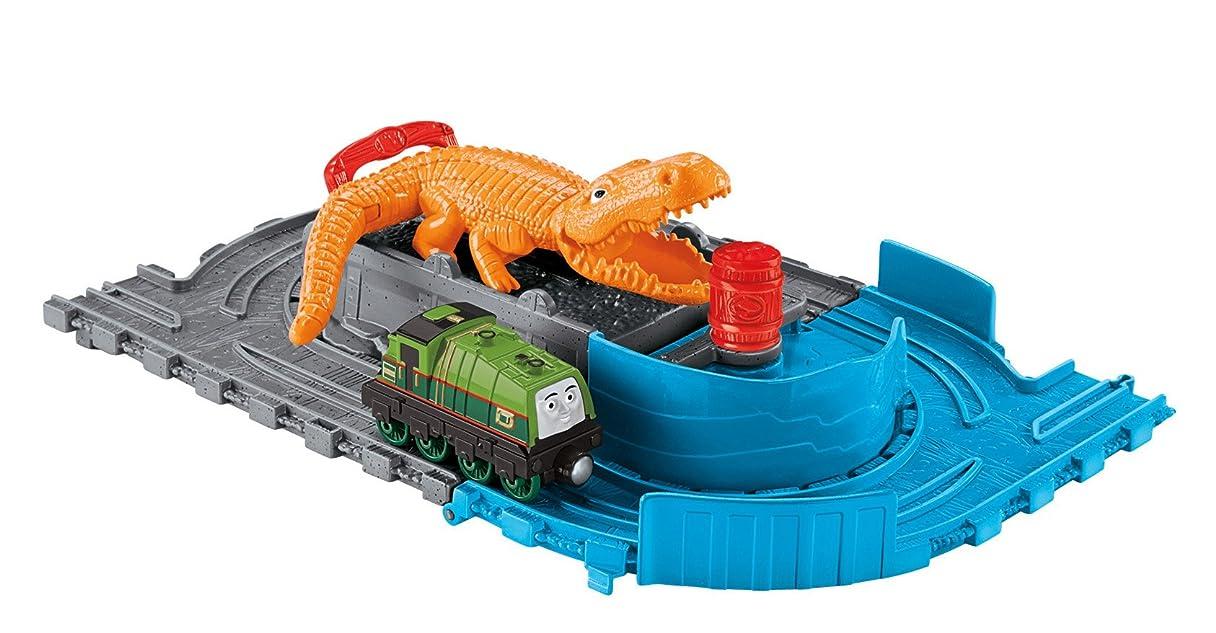 ヘルメット推進、動かす不平を言うFisher-Price Thomas The Train: Take-n-Play Gator's Chase and Chomp トーマス ゲイターのワニパックン フィッシャープライス【平行輸入品】
