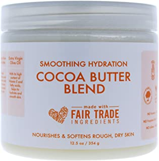 Shea Moisture Smoothing Hydration Cocoa Butter Blend By Shea Moisture for Unisex - 12.5 Oz Body Cream