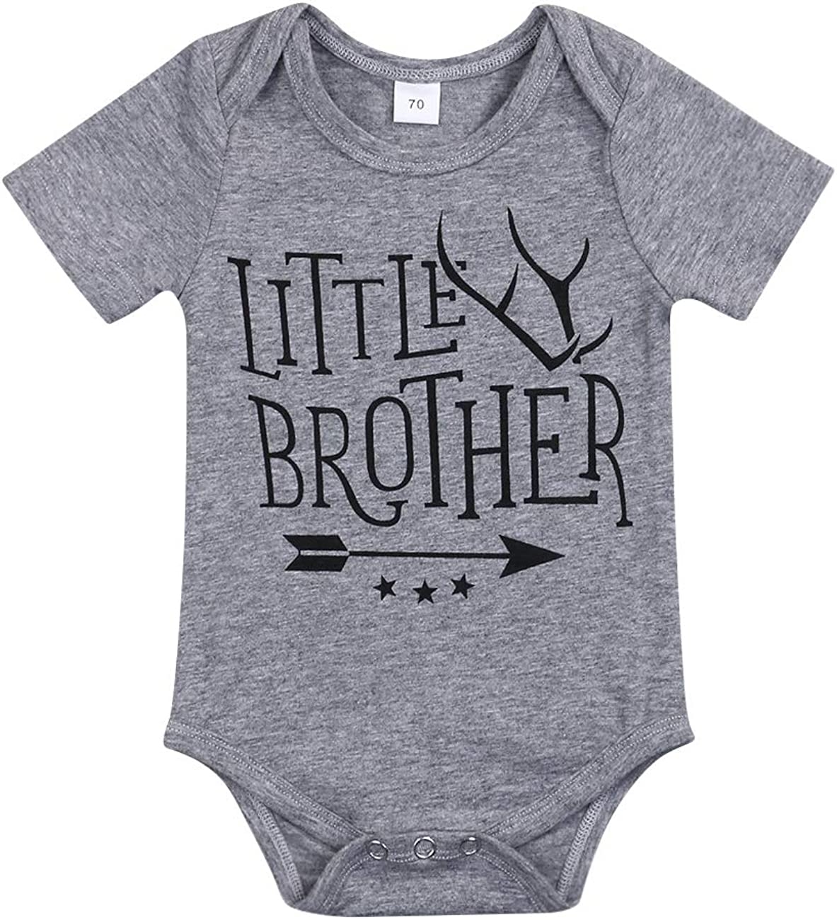 Toddler Newborn Baby Boys Shirts Romper Bodysuit Big Brother Little Brother Tops Sibling Gifts Kids Infant Outfits