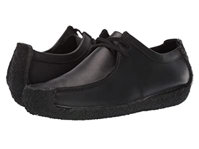Clarks Natalie (Black Leather) Men