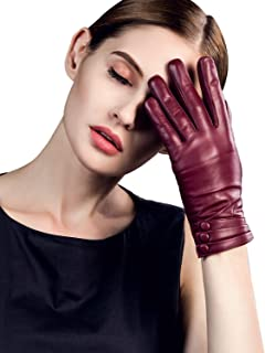 dents ladies leather driving gloves