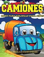 Camiones Libro Para Colorear Para Niños Edades 4-8: Libro para colorear de automóviles y camiones para niños y niños pequeños: el libro de actividades ... (Libro para colorear para niños y niñas)